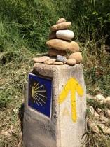 Camino arrow
